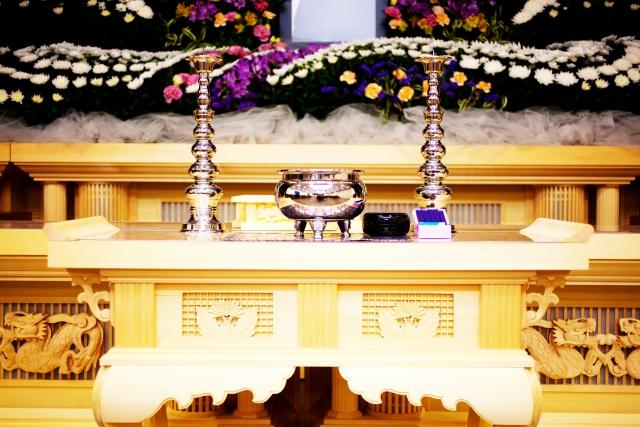 落合斎場の家族葬事例のイメージ